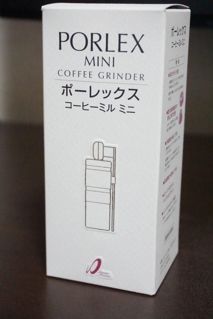 ポーレックス コーヒーミル パッケージ