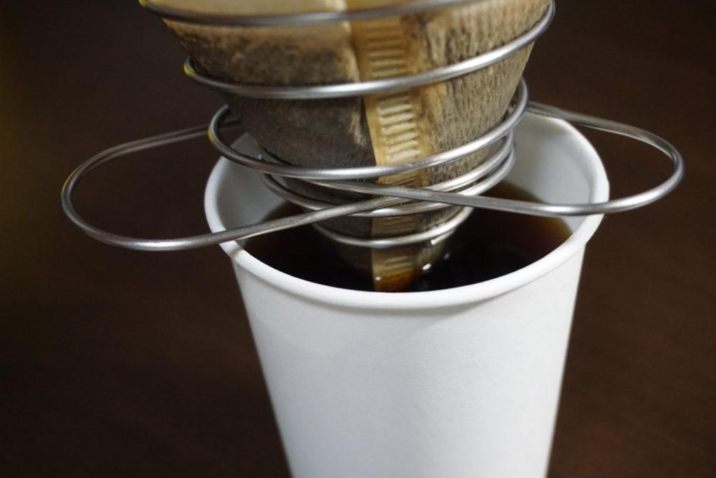 コーヒーバネット 浸かる