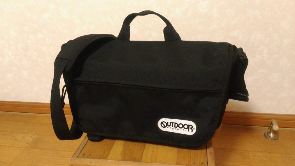 OUTDOOR カメラショルダーバッグ02 7.1L